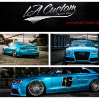 Erwin´s Audi A5 mit GAS V1 Airride